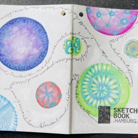 Kunstprojekt: Sketchbook Hamburg